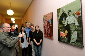 Kunstausstellung Burma