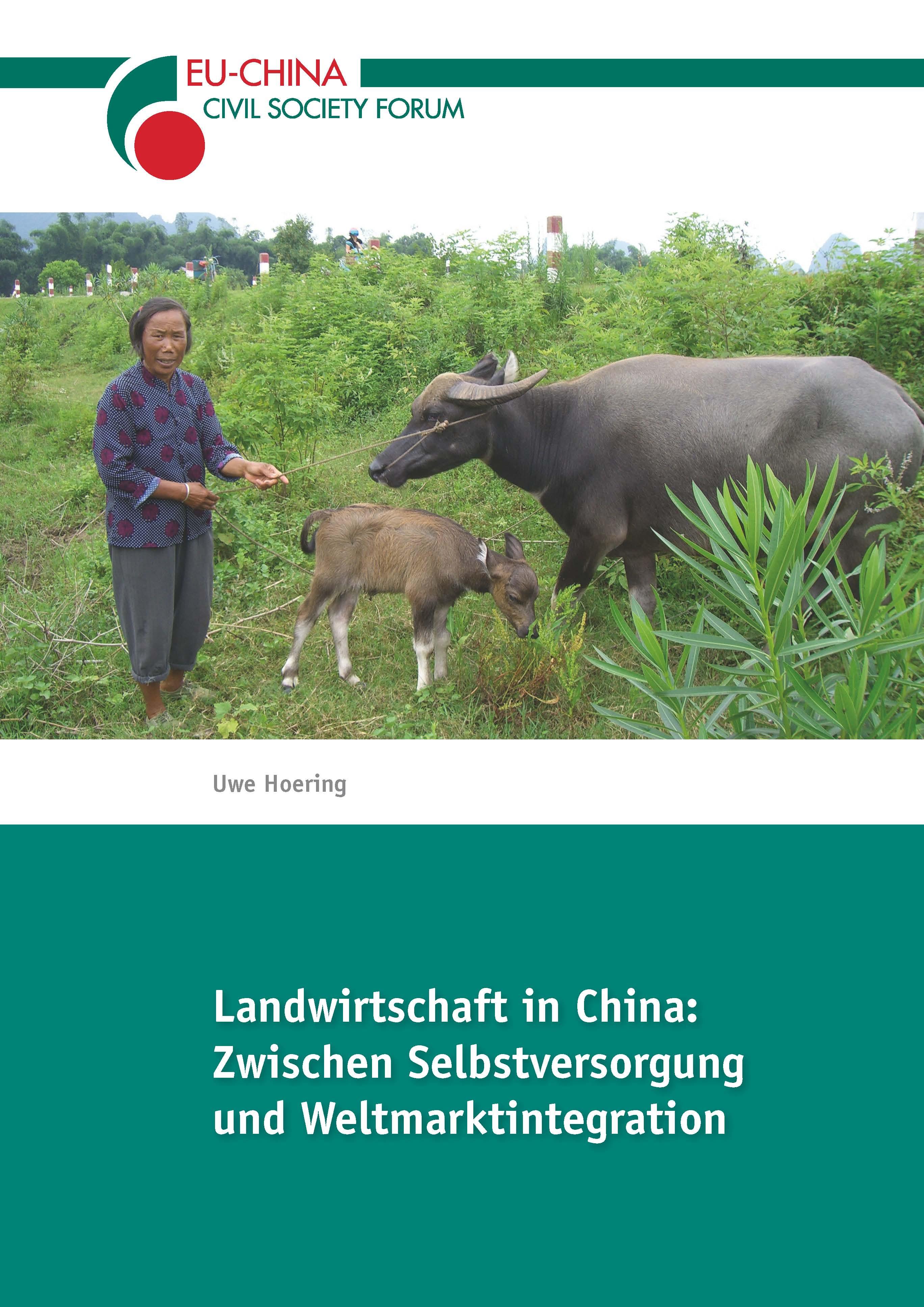 Broschüre Landwirtschaft in China