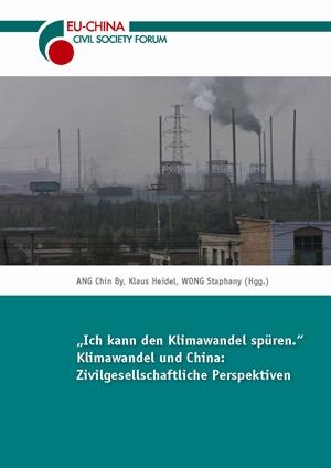 """Titelseite """"Klimawandel und China"""""""